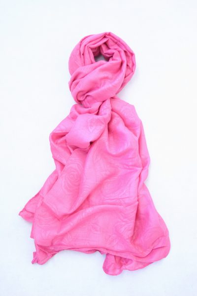 flower-self-print-shawl-hot-pink-1