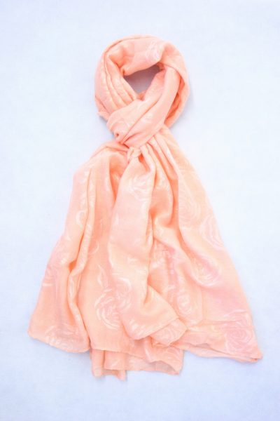 flower-self-print-shawl-peach-2