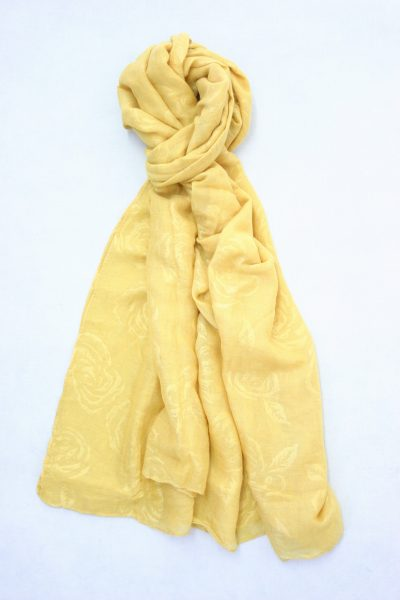flower-self-print-shawl-yellow-2