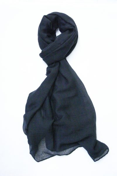 oversized-chiffon-shawl-black