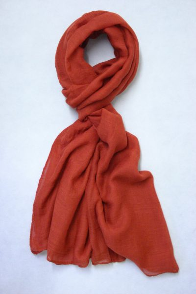 oversized-chiffon-shawl-burnt-orange-2