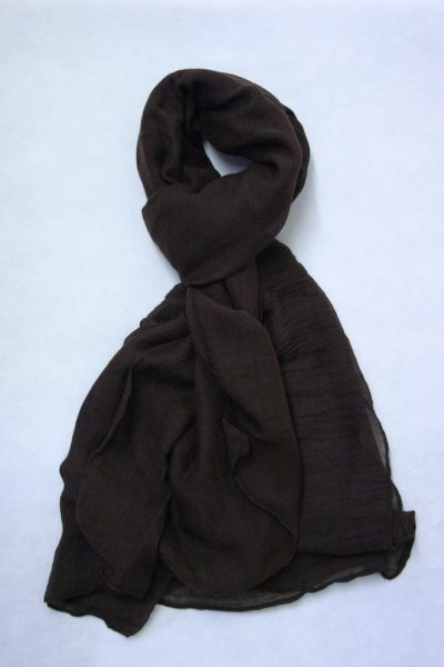 oversized-chiffon-shawl-dark-chocolate-2