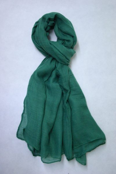 oversized-chiffon-shawl-green-2