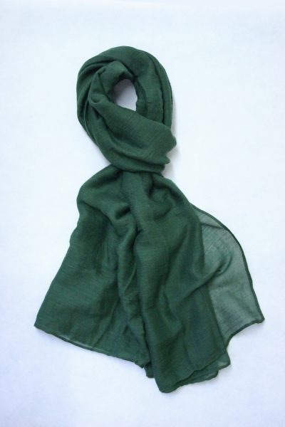 oversized-chiffon-shawl-hunter-green
